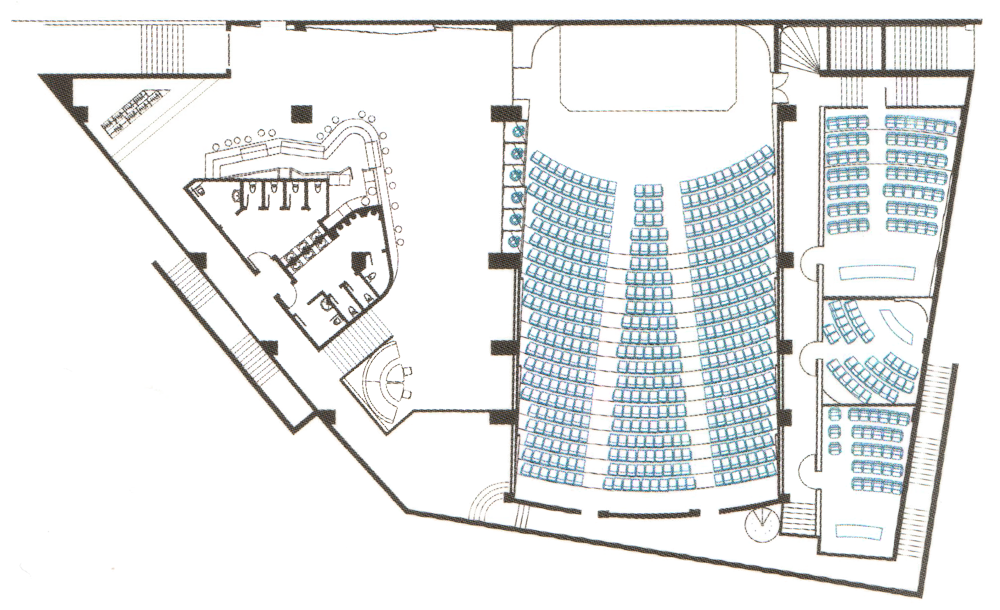 Conference Hall floor plan