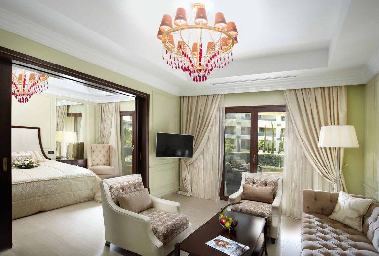 Ludovicus suite livingroom