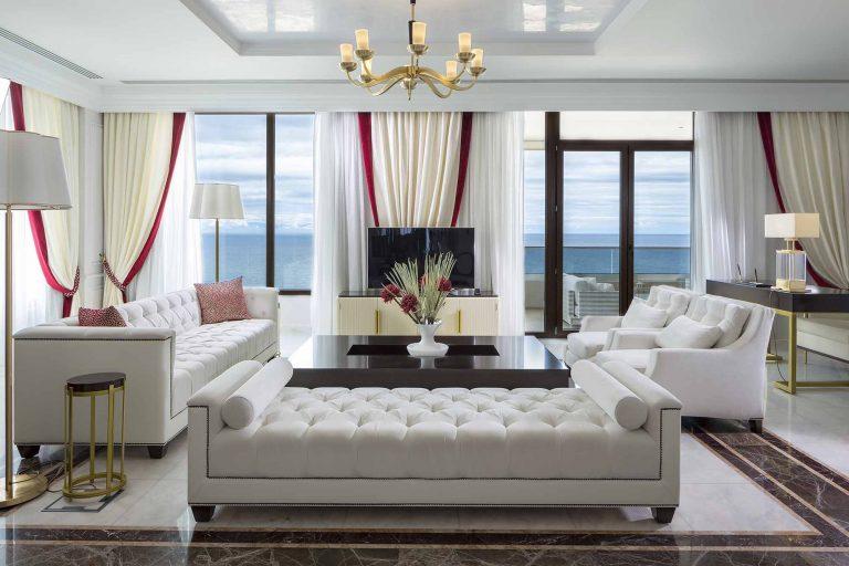 Pomegranate suite livingroom