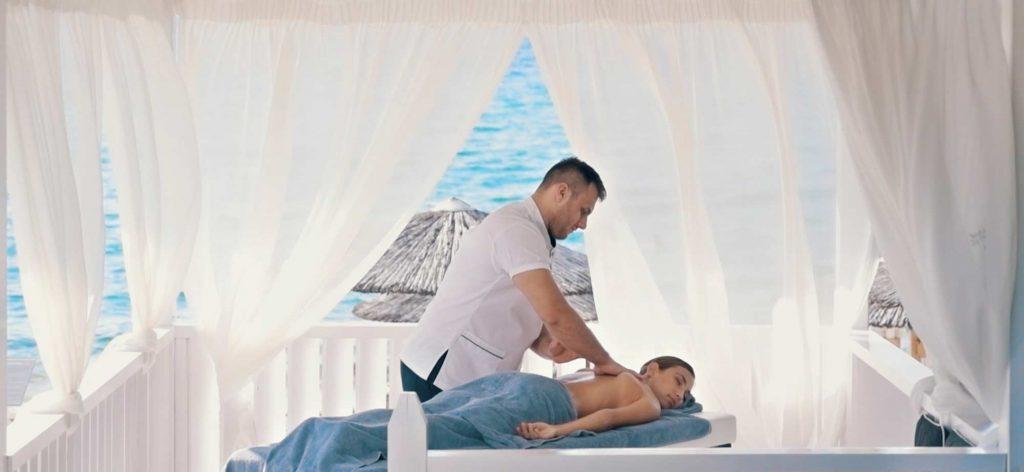 Beach Gazebo Massage